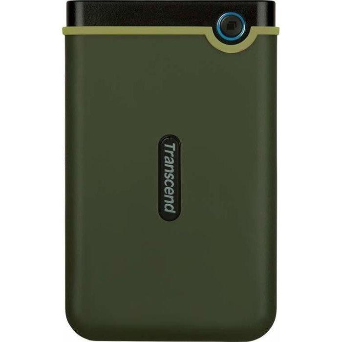 Hard disk extern StoreJet 25M3 2TB USB 3.0 2.5 inch Military Green