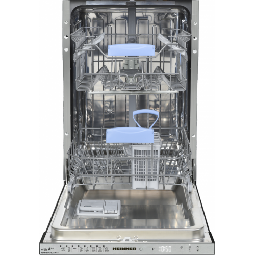Masina de spalat vase HDW-BI4582TA++ 10 seturi 8 programe Clasa A++ Argintiu thumbnail