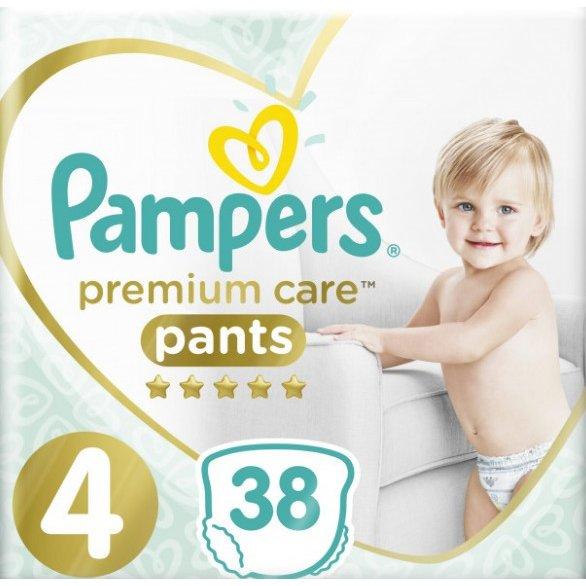 Scutece Premium Care Pants 4 Value Pack 38 buc