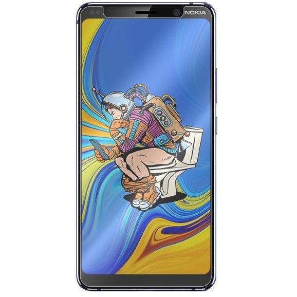 Folie protectie transparenta Case friendly Second Glass Limited Cover Nokia 9 PureView