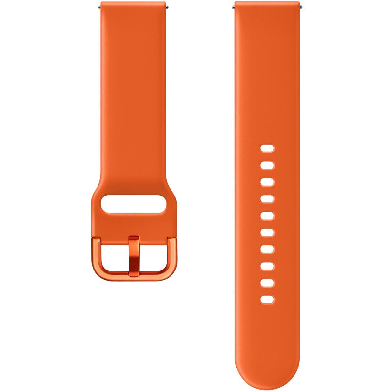 Curea smartwatch Galaxy Watch Active Sport Band Orange thumbnail