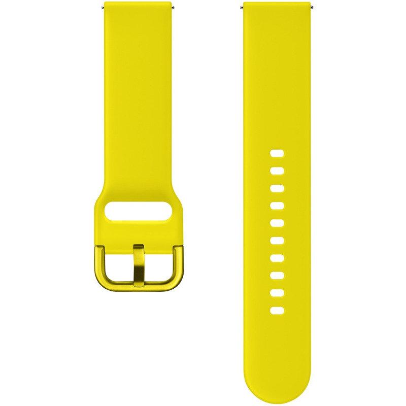 Curea smartwatch Galaxy Watch Active Sport Band Yellow thumbnail