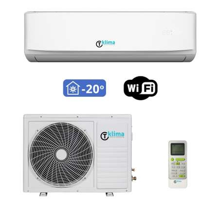 Aparat aer conditionat T klima AC-18TK-T01 18000BTU Inverter Clasa A++ Wi-Fi Alb