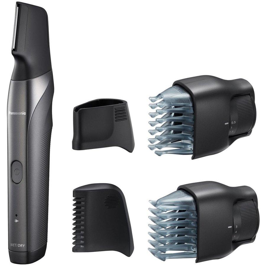 Trimmer pentru barba si par corporal ER-GY60-H503 3 in 1 Wet & Dry Argintiu Negru