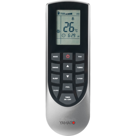 Aparat aer conditionat Yamato Gama OPTIMUM YW24IG4 Eco Inverter 24000BTU Clasa A++ Wi-Fi Alb