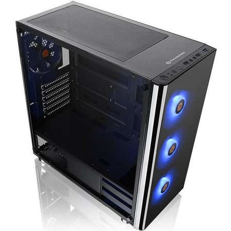 Sistem desktop Gaming Powered by ASUS Typhoon V2 AMD Ryzen 7 2700X Octa Core 3.7 GHz 16GB RAM DDR4 nVidia GeForce GTX 1660 Ti TUF GAMING O6G 6GB GDDR6 SSD 480GB + HDD 2TB Free Dos Black