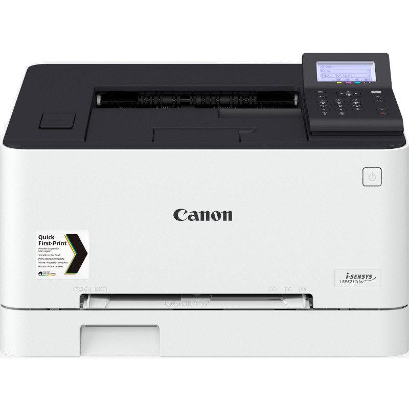 Imprimanta laser color I-Sensys LBP623Cdw Retea Wi-Fi A4 Alb thumbnail