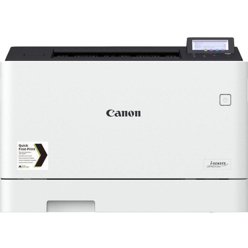 Imprimanta laser color i-Sensys LBP663CDW Retea Wi-Fi A4 Alb thumbnail