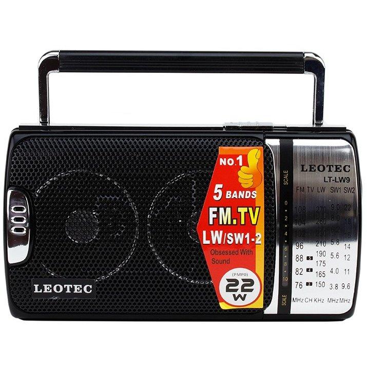 Radio portabil LT-LW9 Negru / Argintiu