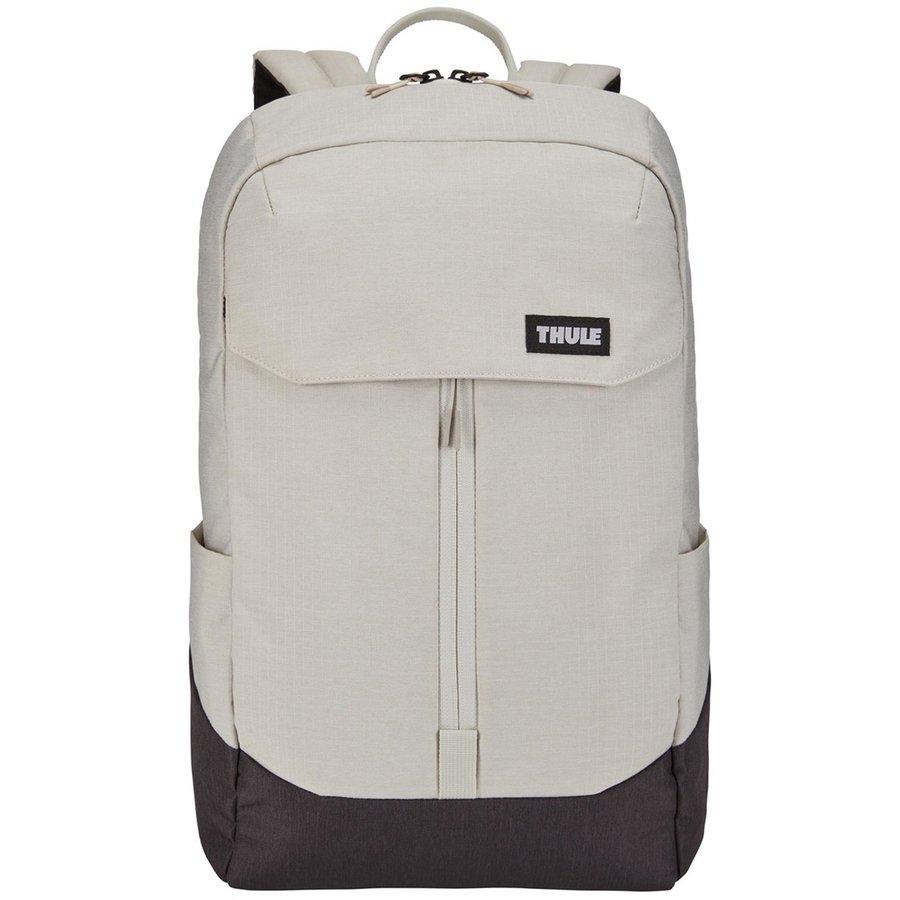 Rucsac urban cu compartiment laptop LITHOS Backpack 20L Concrete/Black