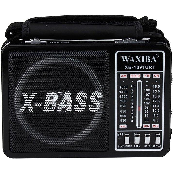 Radio portabil XB-1091G Retro Negru