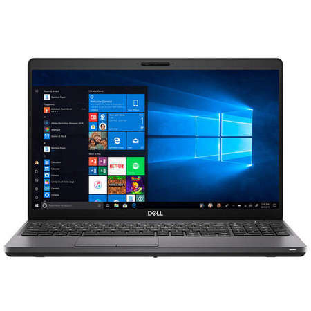 Laptop Dell Latitude 5501 15.6 inch FHD Intel Core i7-9850H 16GB DDR4 512GB SSD nVidia GeForce MX150 Backlit KB FPR Windows 10 Pro Black 3Yr BOS
