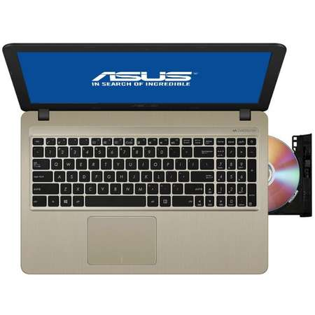 "Laptop Asus VivoBook 15 X540MA-GO360 15.6"" HD Intel Celeron N4000 4GB DDR4 256GB SSD Super Multi 8x DVD Chocolate Black"