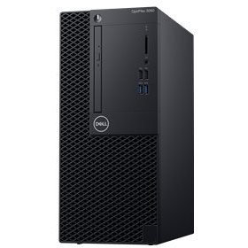 Sistem desktop OptiPlex 3070 MT Intel Core i3-9100 8GB DDR4 256GB SSD US Keyboard Windows 10 Pro 3Yr BOS thumbnail