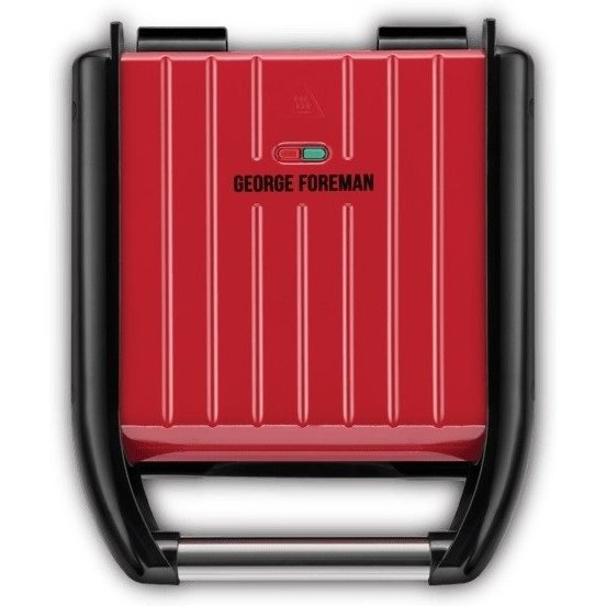 Gratar electric 25030-56 George Foreman Steel Family 1650W Rosu thumbnail