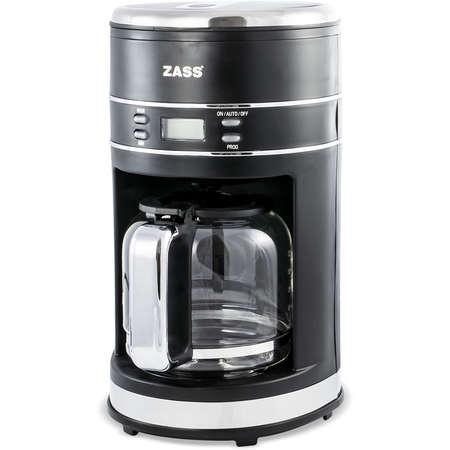Cafetiera digitala Zass ZCM 04 1.5 litri 1000W Negru