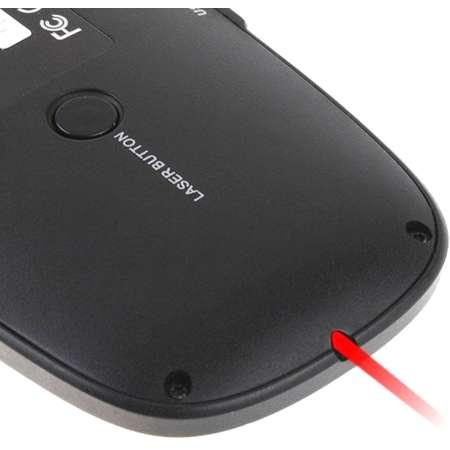 Mini tastatura Wireless Rii tek i10 RTMWK10 cu functii 3 in1 Negru