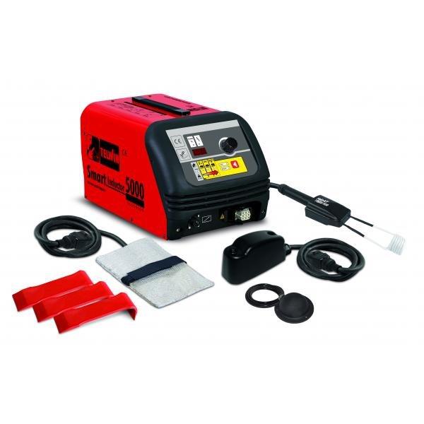 Aparat de incalzire pentru tinichigerie cu inductie SMART INDUCTOR 5000 230 V Clasic+Acc Rosu