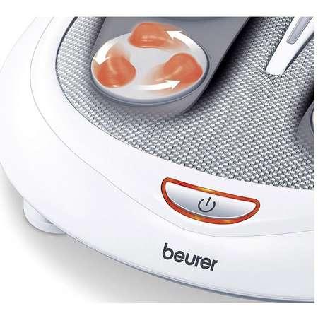Aparat masaj picioare Beurer FM60 Functie de masaj Shiatsu 18 Capete de masaj 50W  Alb