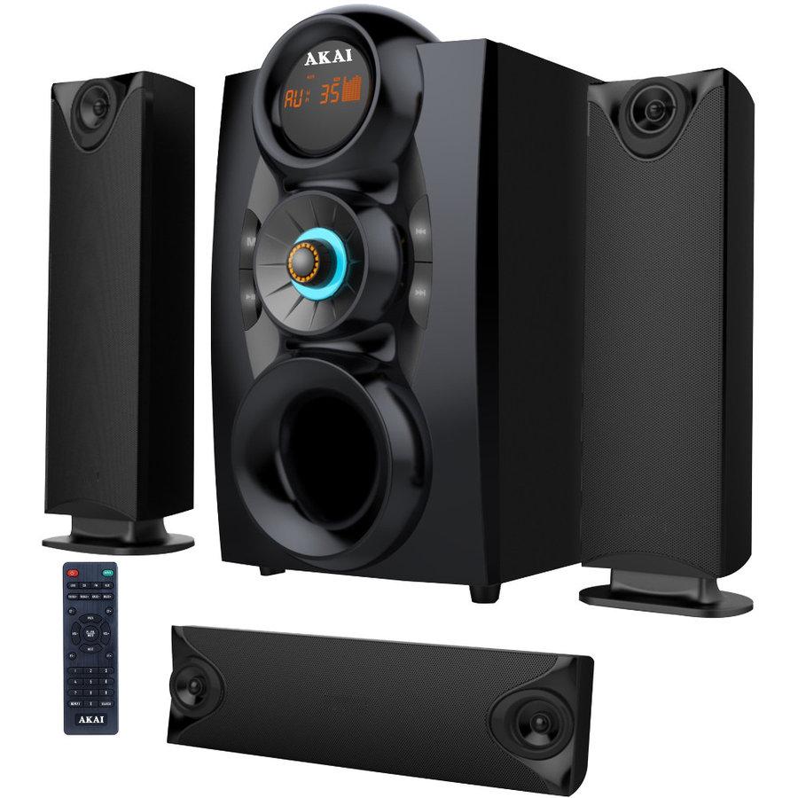 Sistem audio 3.1 SS028A-3208C Bluetooth 75W Negru thumbnail