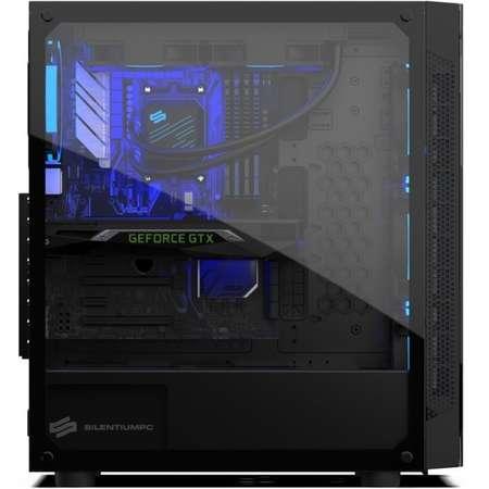 Sistem desktop Predator V3 Powered by ASUS Intel Core i7-9700K Octa Core 3.6 GHz 16GB RAM DDR4 nVidia GeForce RTX 2070 SUPER EVO OC O8G 8GB GDDR6 256bit SSD 240GB M.2 + HDD 2TB FreeDos Black