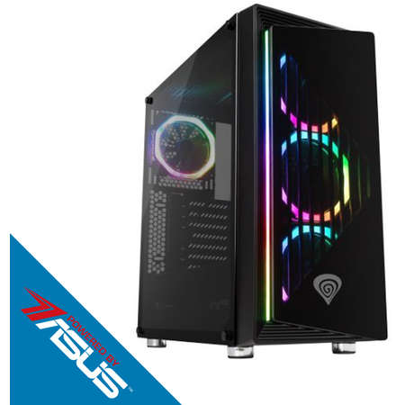 Sistem Gaming Ravager Plus V2 Powered by ASUS Intel Core i5-6600K Quad Core 3.5 GHz 16GB RAM DDR4 nVidia GeForce GTX 1660 Ti TUF GAMING O6G 6GB GDDR6 192bit SSD 120GB + HDD 1TB Free DOS Black