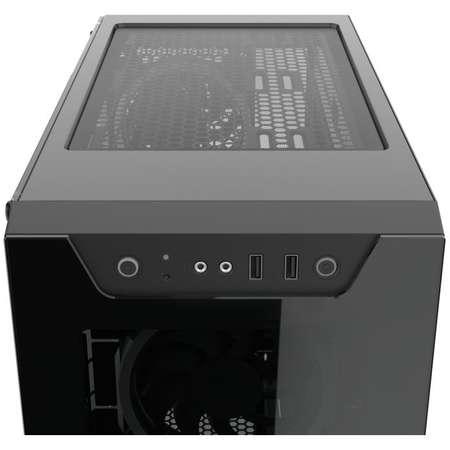 Sistem desktop Predator V4 Powered by ASUS Intel Core i7-9700K Octa Core 3.6 GHz 32GB RAM DDR4 nVidia GeForce RTX 2070 SUPER EVO OC O8G 8GB GDDR6 256bit SSD 500GB M.2 + HDD 2TB FreeDos Black