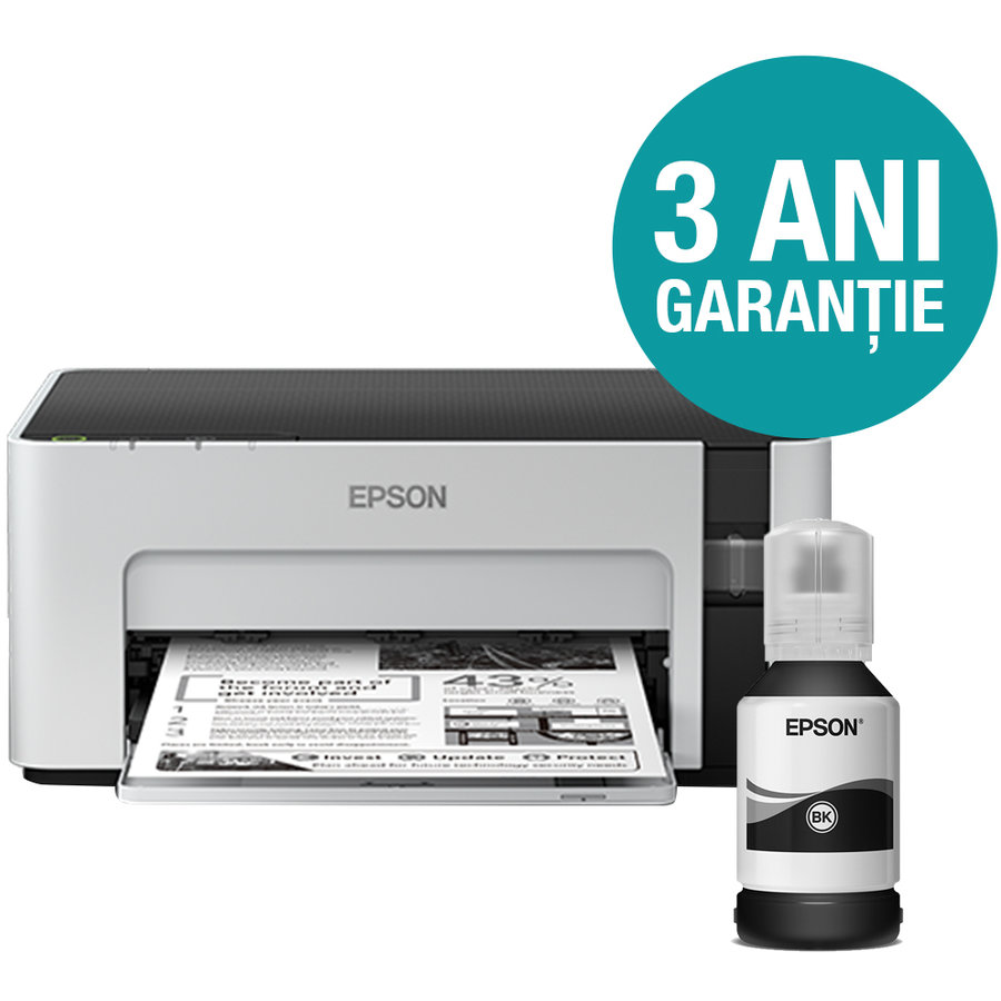 Imprimanta inkjet M1100 CISS Mono A4 White thumbnail