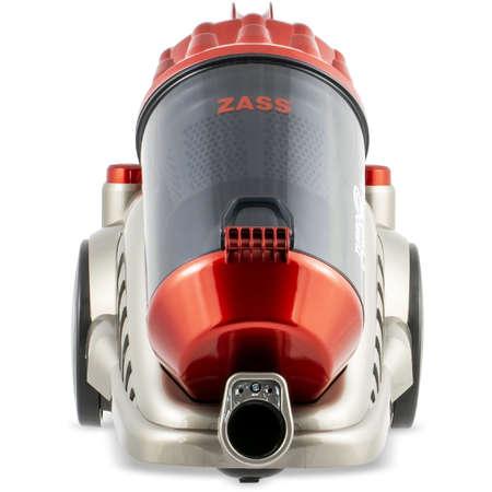 Aspirator ciclonic fara sac Zass ZVC 17 3.5 Litri 700W Gri / Rosu