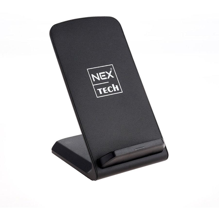 Incarcator Tech Wireless Fast Charge Certificat Qi 2 Bobine Incorporate Compatibilitate Universala Negru