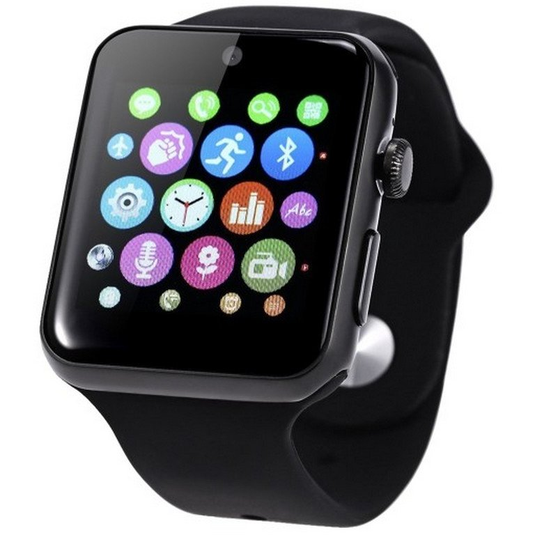 Smartwatch Exclusive curea Sport , Negru thumbnail