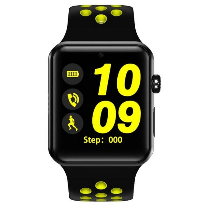 Smartwatch Exclusive curea Sport Negru/Verde thumbnail
