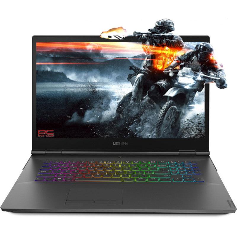 Laptop Legion Y740-17IRHG 17.3 inch FHD Intel Core i7-9750H 16GB DDR4 1TB SSD nVidia GeForce RTX 2060 6GB Black thumbnail