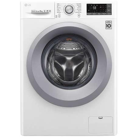 Masina de spalat rufe LG F4TURBO8 8 kg 1400 rpm Clasa A+++ White