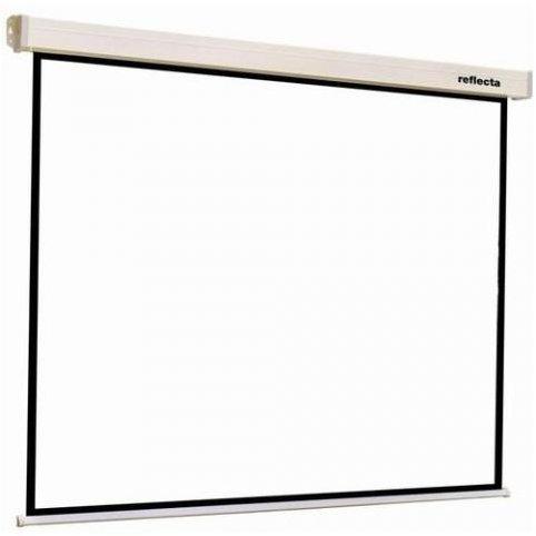 Ecran de proiectie Crystal-Line Rollo 1:1 240x240 cm
