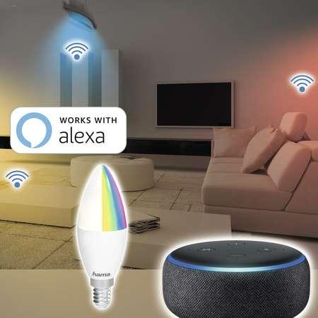 Bec LED Hama 176549 WiFi E14 RGB 4.5W
