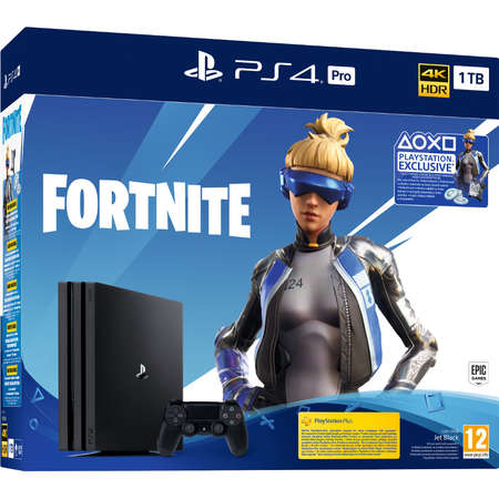Consola Sony PlayStation PS4 PRO 1TB Fortnite Neo Versa Bundle 4K HDR Black