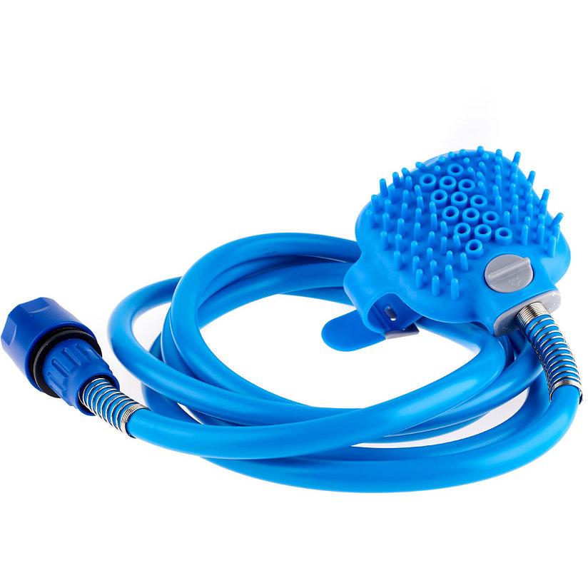 Accesoriu CARE pentru Ingrijirea Animalelor de Companie 380g Curațare profunda Masaj Albastru thumbnail