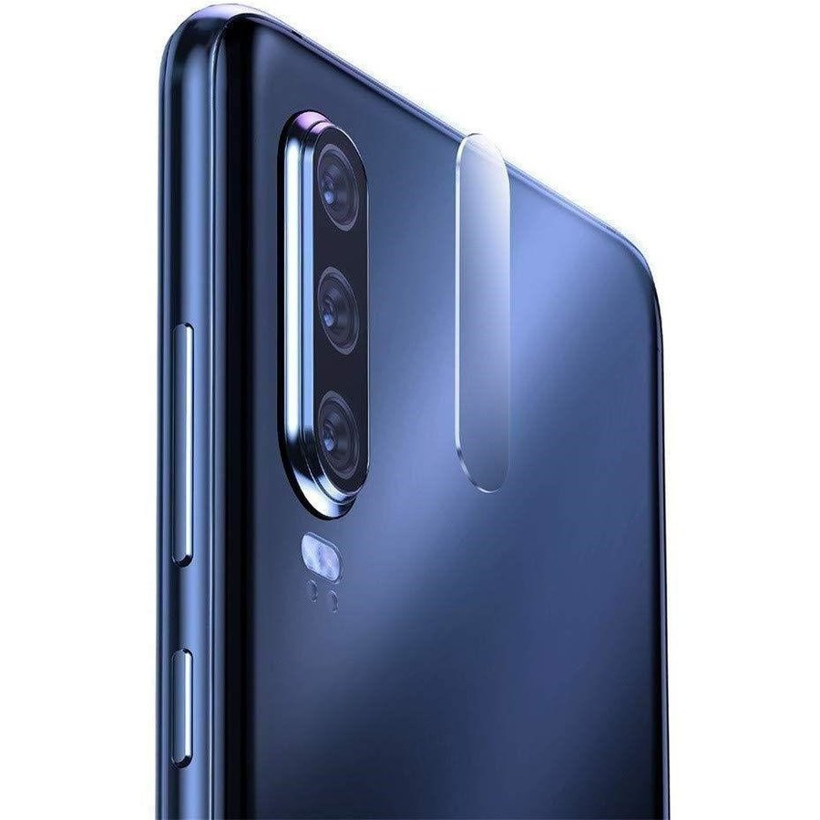 Folie protectie camera foto Flexible Glass Huawei P30 4-Pack