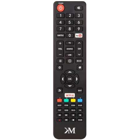 Televizor Kruger&Matz LED Smart TV KM0240FHD-S3 102cm Full HD Black