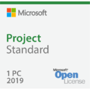 Microsoft Project Standard 2019 Sngl OLP 1 License NoLevel