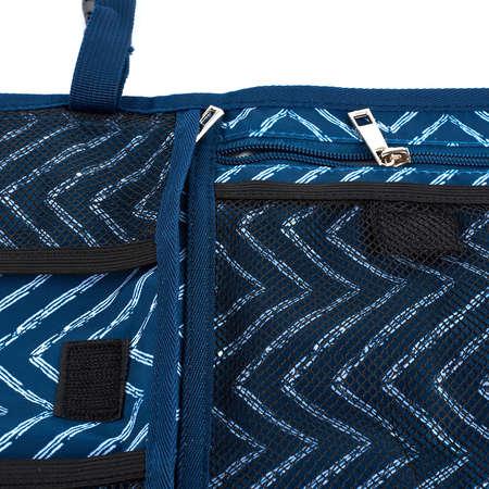 Geanta pentru schimbarea Bebelusului in Siguranta NEX CARE PREMIUM Portabila Perna Cap Tesatura Durabila Albastra