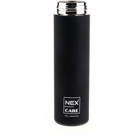 Termos NEX CARE PREMIUM 500ml Diametru interior 55mm Dimensiuni 237 x 65mm Rezistenta la rugina Curatare usoara Negru