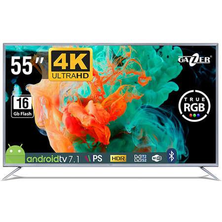Televizor GAZER LED Smart TV55-US2G 139cm Ultra HD 4K Black