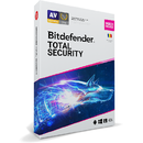 BitDefender Total Security Multi-Device 2020 10 Dispozitive 1 An Licenta noua Retail DVD