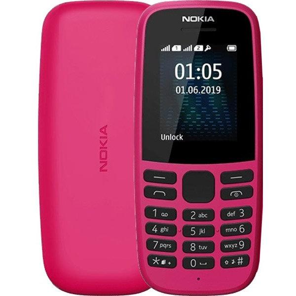 Telefon mobil 105 2019 Dual Sim Pink