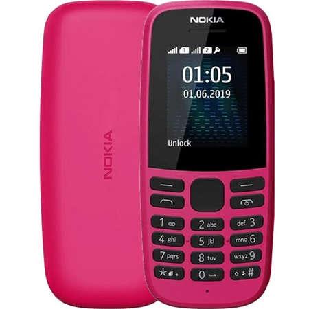 Telefon mobil Nokia 105 2019 Dual Sim Pink