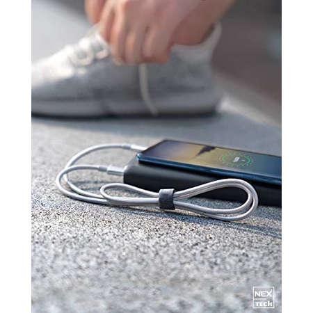 Cablu de date / incarcare NEX Tech Type C PREMIUM 0.5m Transfer date Incarcare Sincronizare Flexibil Compatibilitate Universala Gri
