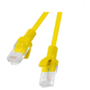 Cablu FTP Lanberg Patchcord RJ45 Cat 6 1 m Galben