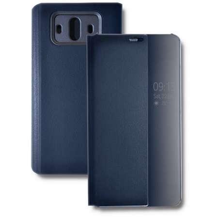 Husa Flip Cover Qoltec Premium Navy Blue pentru Huawei Mate 10
